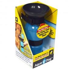 Aqua Dog Portatif Seyahat Suluğu 18oz Mavi