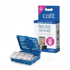 Catit Magic Blue Tuvalet Kabı Koku Giderici